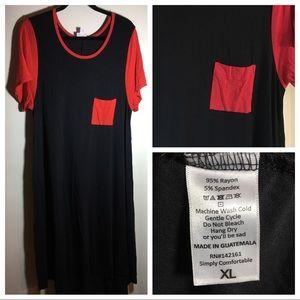 LulaRoe Carly dress high-low size XL fits 18-20